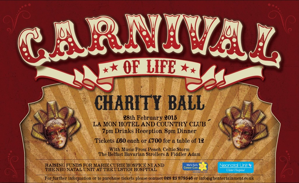 Carinval of Life Fundraiser